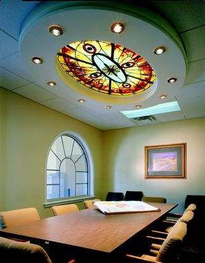 Custom Made City Hall, Green Cove Springs, Florida. Illuminated Ceiling Treatments