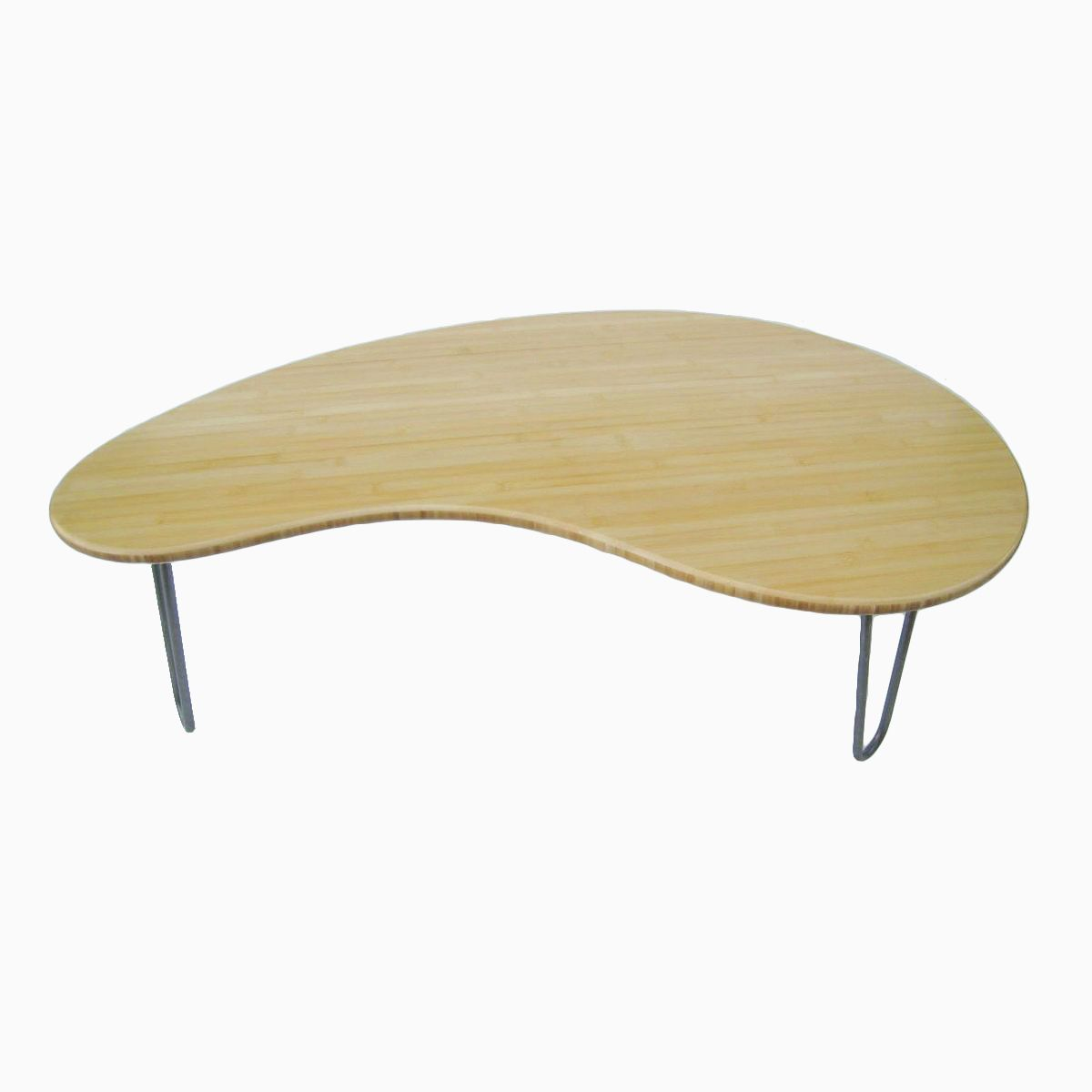 Buy A Hand Made Bamboo Kidney Bean Coffee Table Eames Era Made To Order From Studio1212