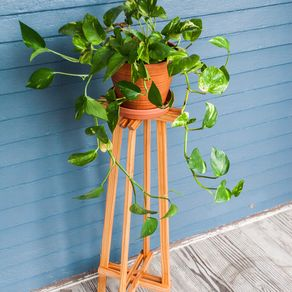 Custom plant stands wooden pot amp wrought iron plant stands showing