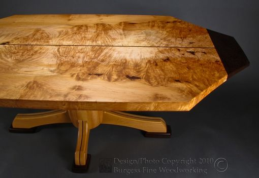 Custom Made Maple-Madness Dining Table