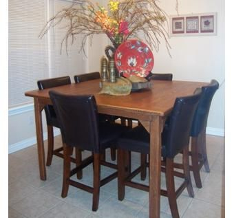 hand made dining room table by th ruhling custom woodwork