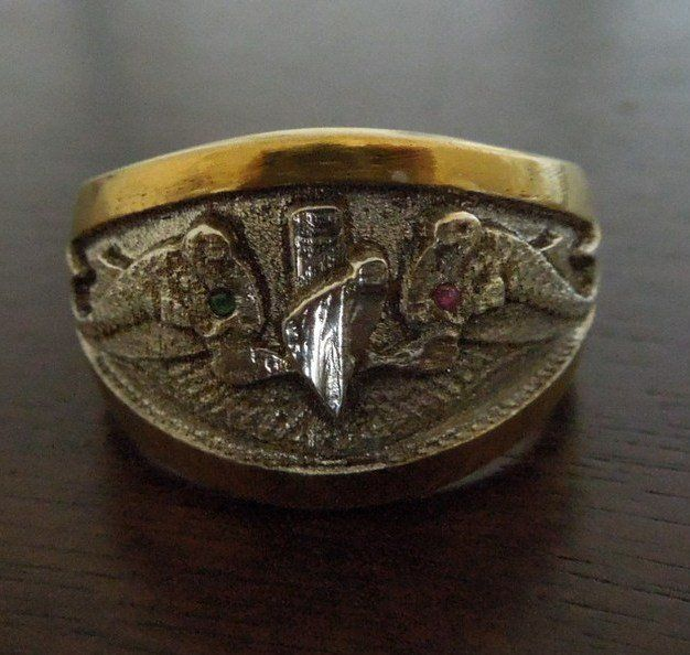 Handmade Submarine Navy Ring By Cicmil Crowns Custommade Com
