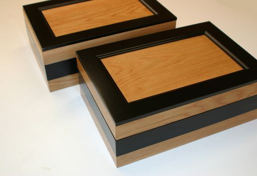 Custom Made Custom Oak Boxes