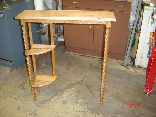 Custom Made Powder Room Table