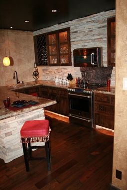 Custom Made Rustic Kitchen