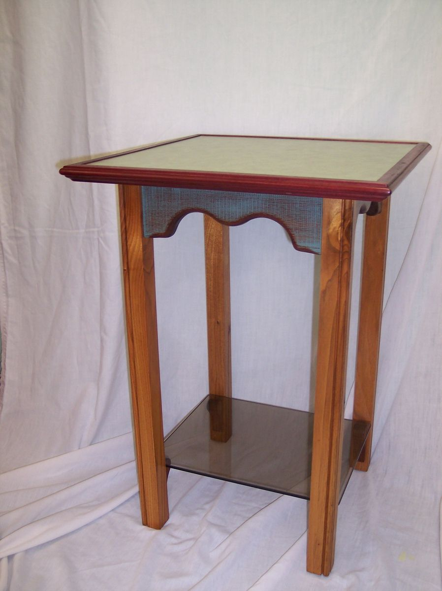 handmade formica topped table by e s designs the menage