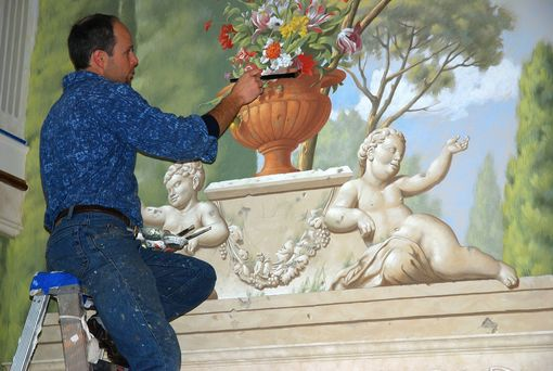 Custom Made Mural Paintings & Fine Art