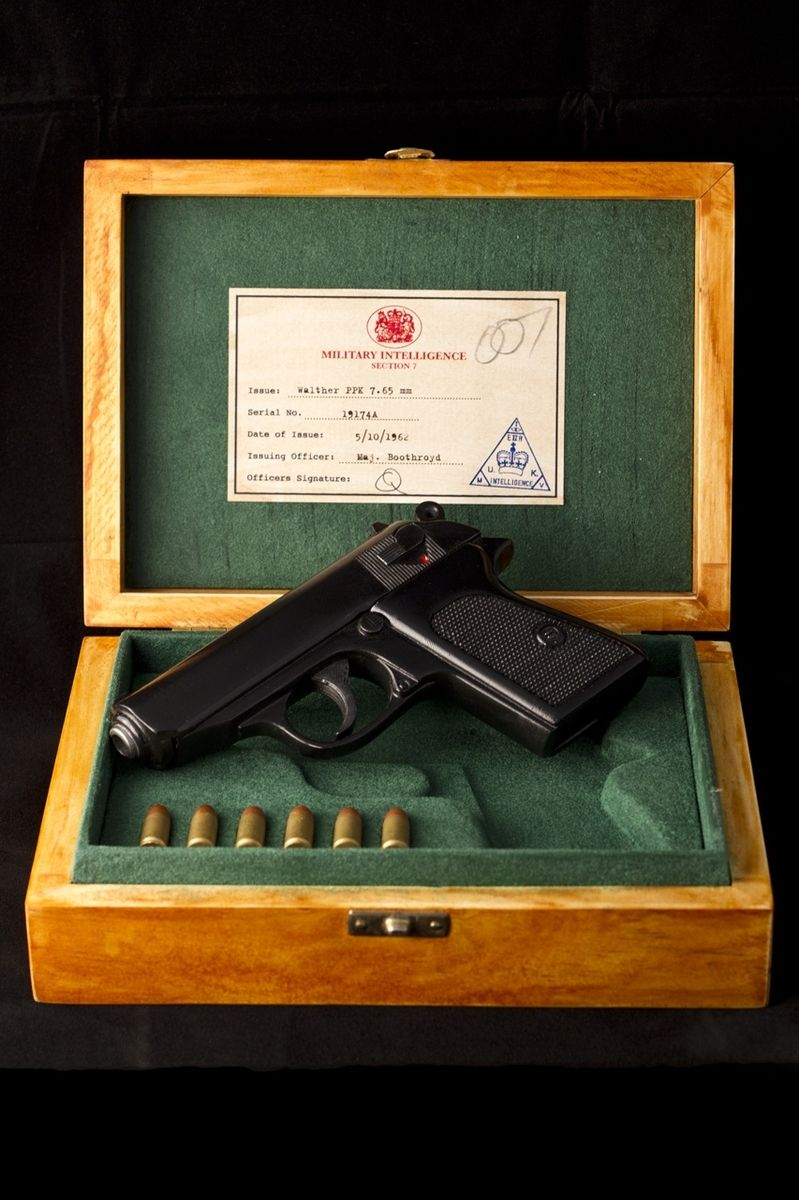 Custom Walther P P K In Display Case From Dr No 1962 By