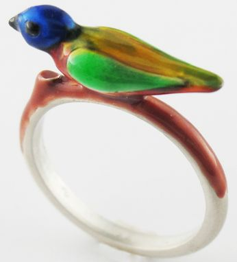 Custom Made Bird Ring