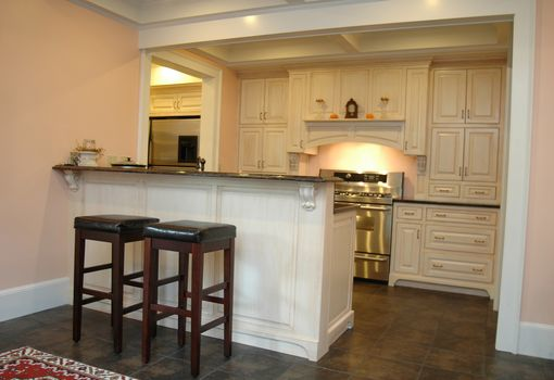 Custom Made Victorian Painted Kitchen