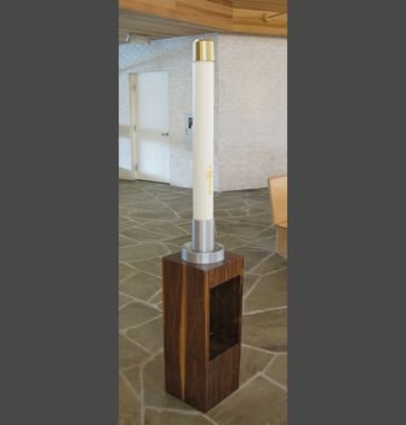 Custom Made Paschal Candle Stand 3