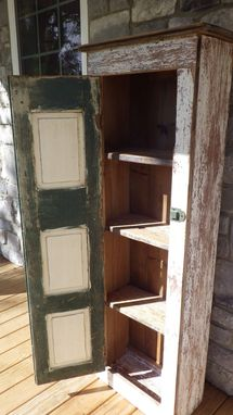 Custom Made Shutter Storage Cabinet