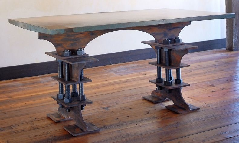Custom The I Beam Table By Brandner Design Custommade Com