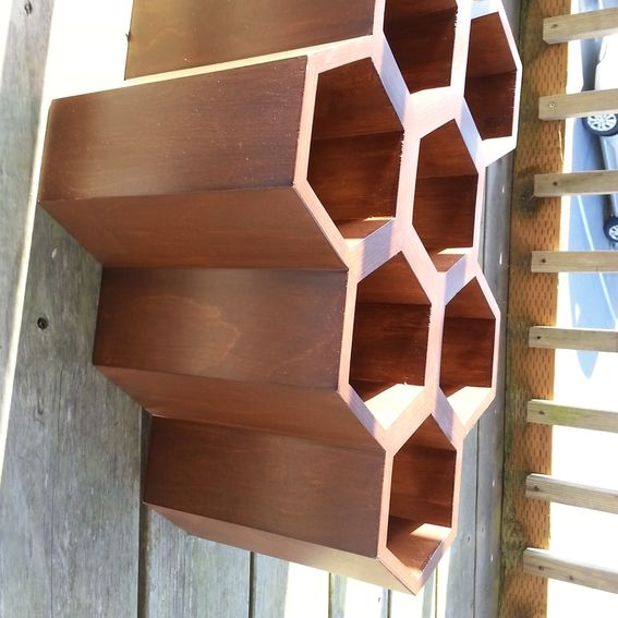 Buy A Handmade Honeycomb Wine Rack Made To Order From