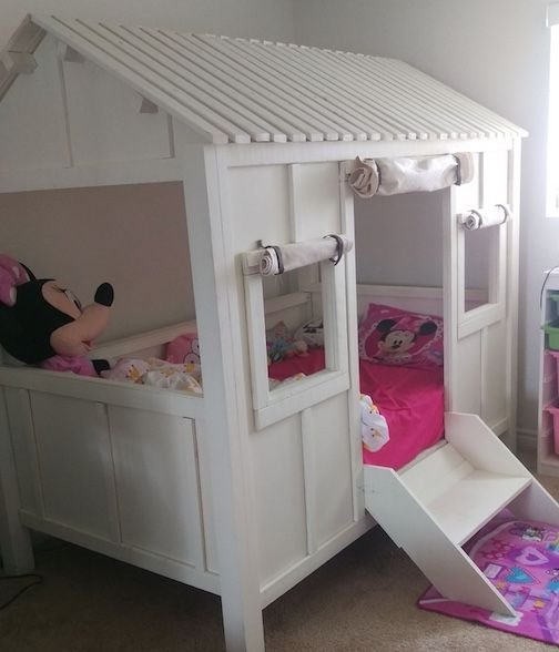 Buy A Custom Made Kids Bed Beach House Bed Made To Order From The Stockton Mill