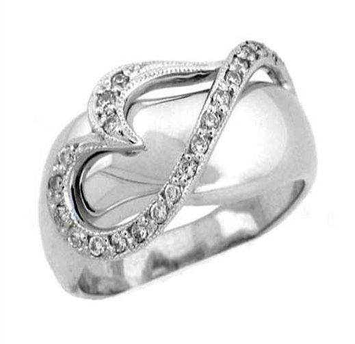 Custom Made Sossi Jewelry Home: Buy A Custom 14 Kt White Gold Diamond Valentines Heart