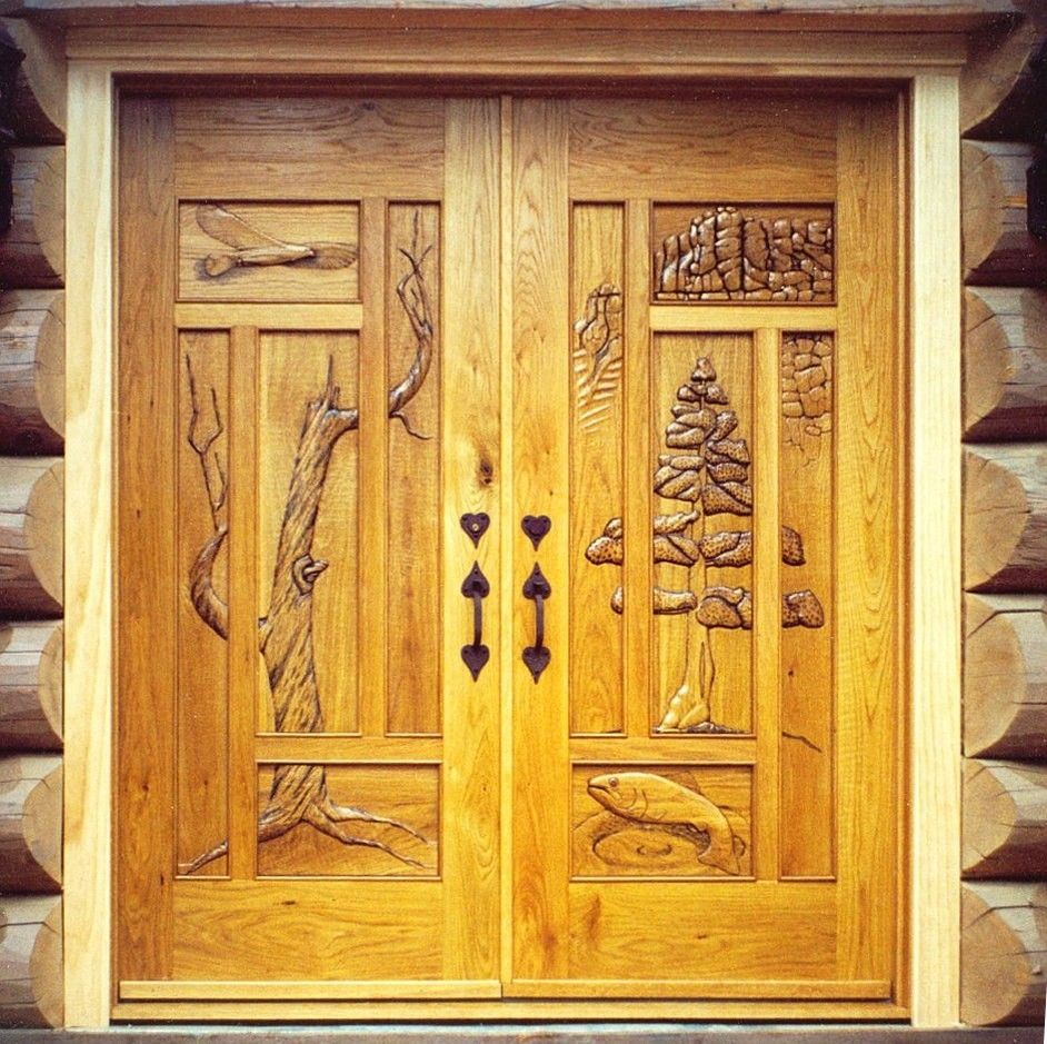 Custom made colorado tryptic entry doors by doorways to for Custom front doors