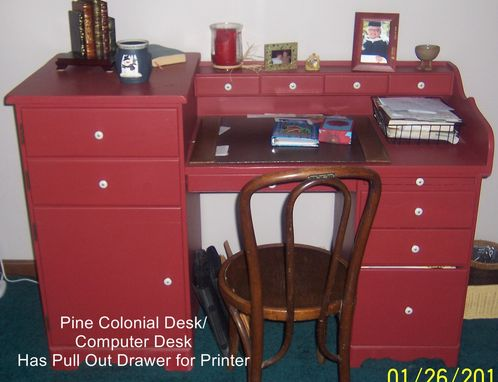 Custom Made Pine Colonial Desk