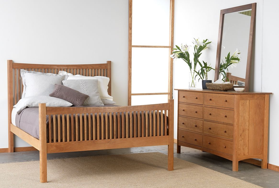 Hand Made Heartwood Bedroom By Vermont Furniture Designs