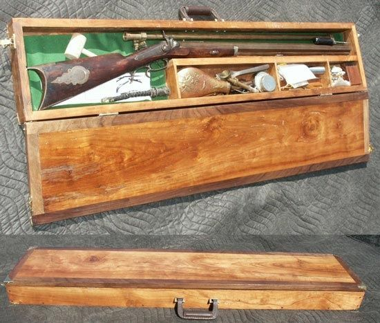 Hand Made Custsom Gun Cases By Artisans Of The Valley