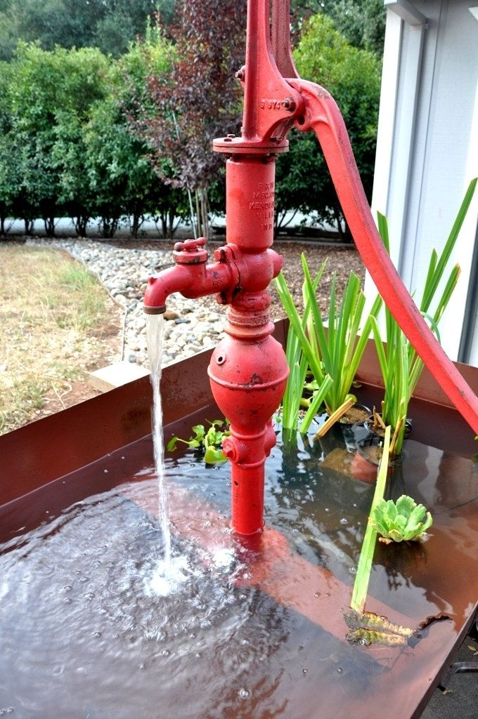 Hand Crafted Recycled Oil Barrel Water Fountain The Big