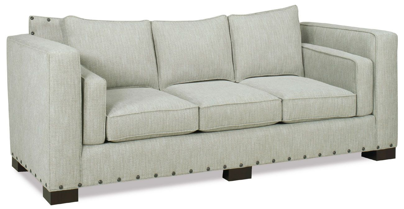 Custom made jase sofa with8 way hand tied springs by for Sofa 8 way hand tied