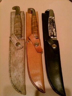 Custom Made Custom Knife Sheaths