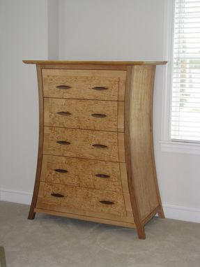 Custom Made Karelian Birch Dresser