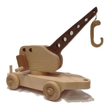 Custom Made Large Wooden Toy Train