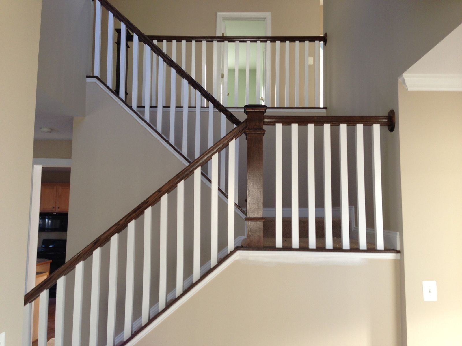 Hand Made Dark Oak Stair Raling Amp Balusters By Parz