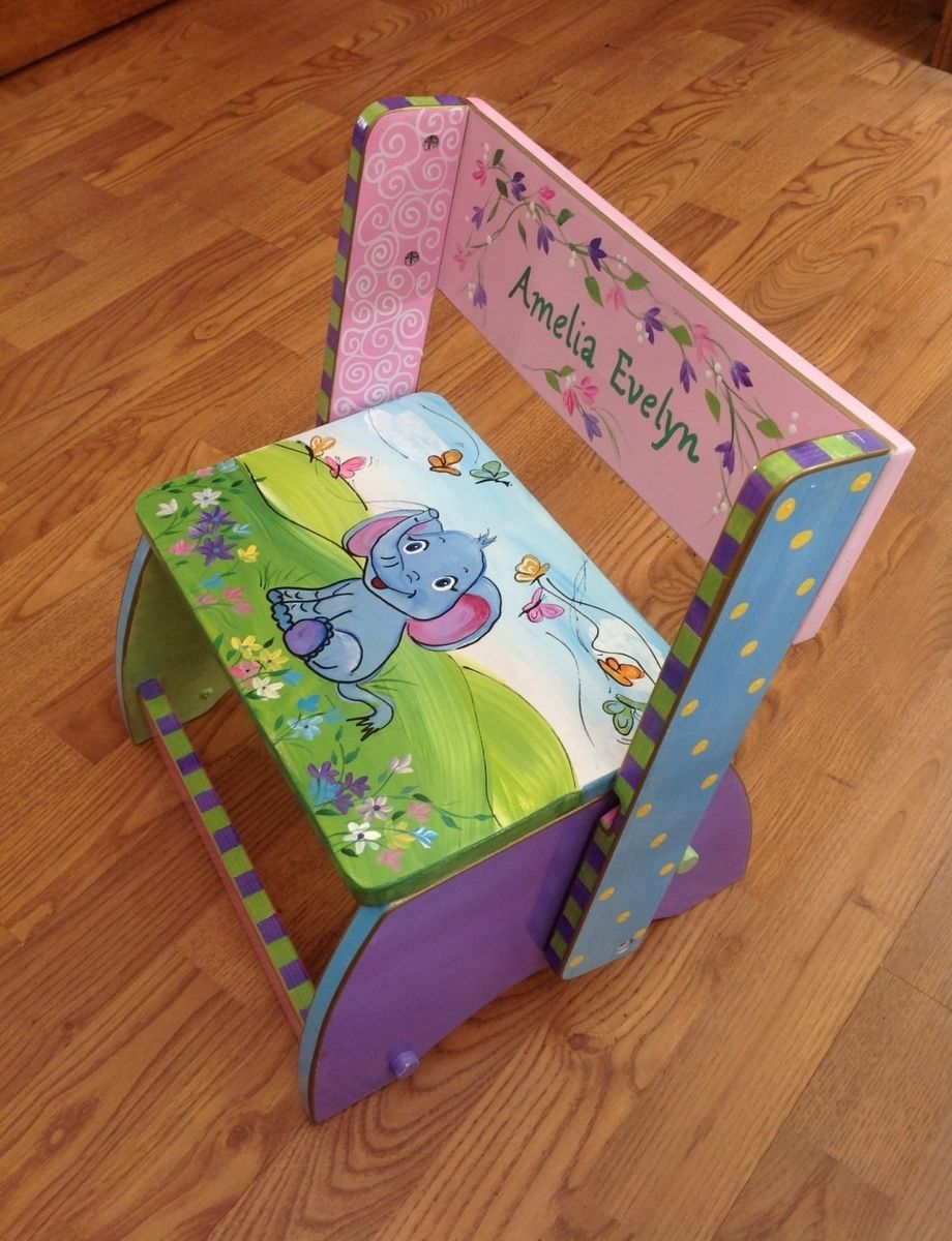Buy A Hand Made Custom Personalized Hand Painted Step
