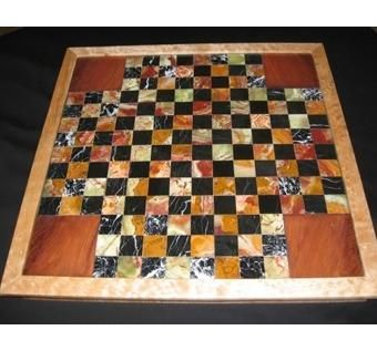 Custom Made Chess For Four Game Board