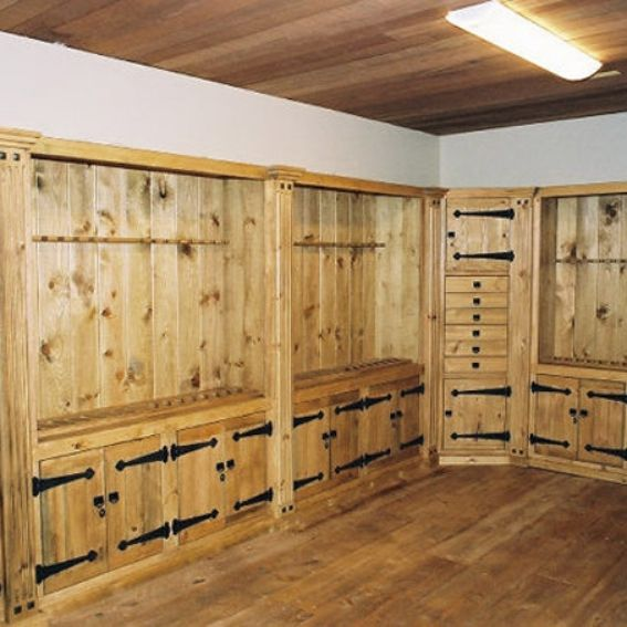 Naked Kitchen Cabinet Doors: Hand Crafted Gun Cabinets By Naked Tree Woodworking