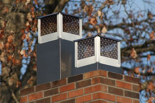 Custom Made Custom Stainless Steel Chimney Caps