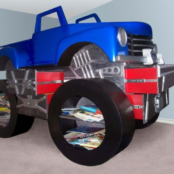 Hand Made Monster Truck Bed By Dst Studio