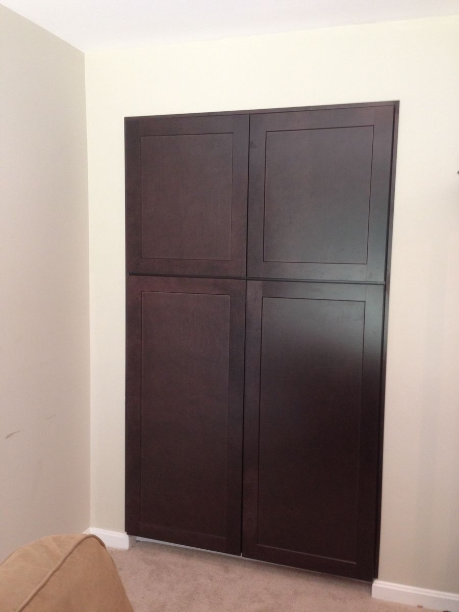 Custom Built In Pantry Cabinets By Parz Designs