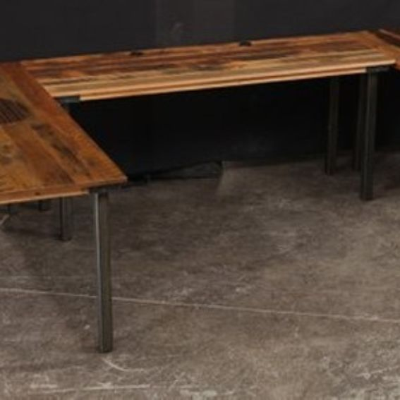 custom made computer desks reclaimed wood by ron corl design ltd