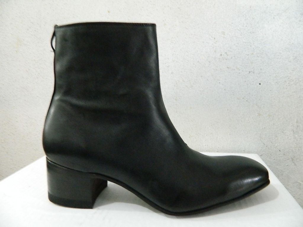 Custom mens dress ankle boots 2 5 heels by custom boots custommade
