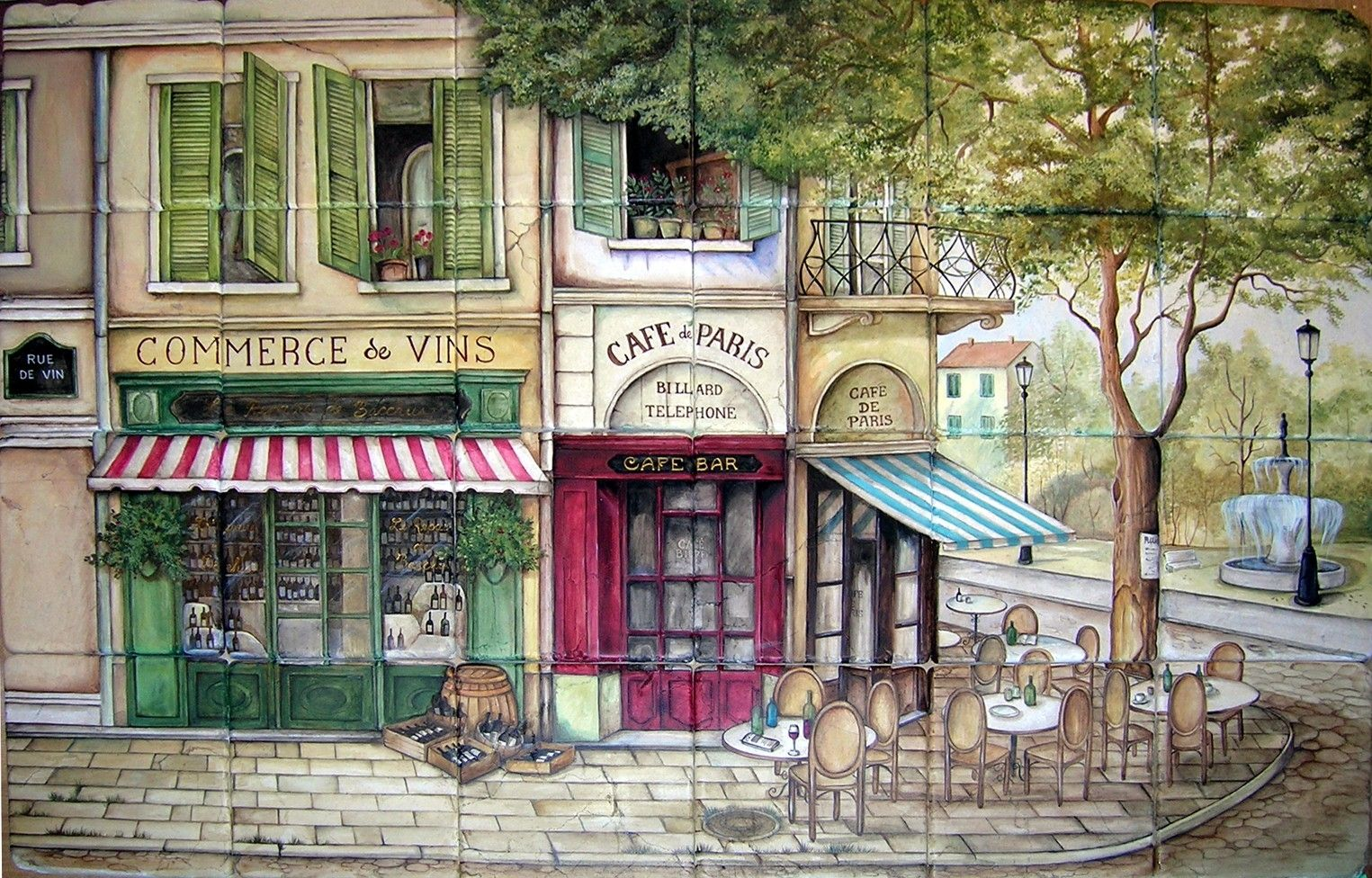 Cafe Chic Paris