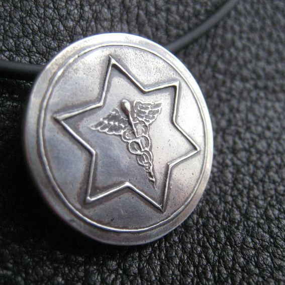 Hand Crafted Custom Medical Id Medical Alert Necklace