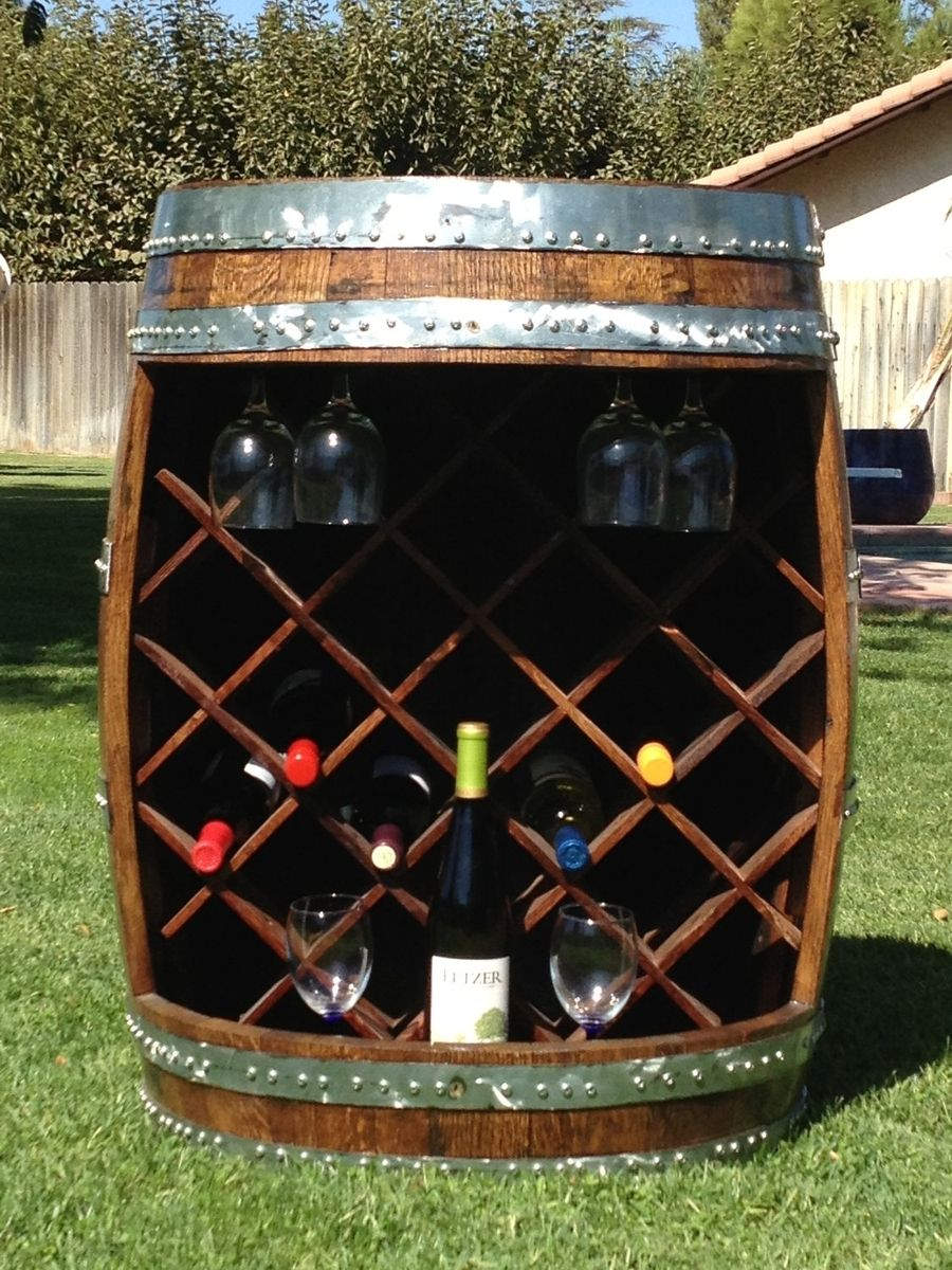 Buy A Hand Crafted Wine Barrel Wine Rack Made To Order