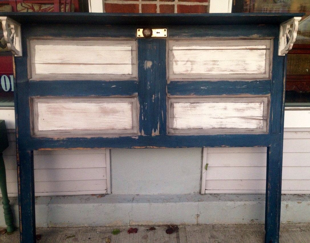 852 #855F46 Buy A Hand Made Upcycled Door Headboard Made To Order From The Crabby  save image Custom Made Entry Doors 45471087