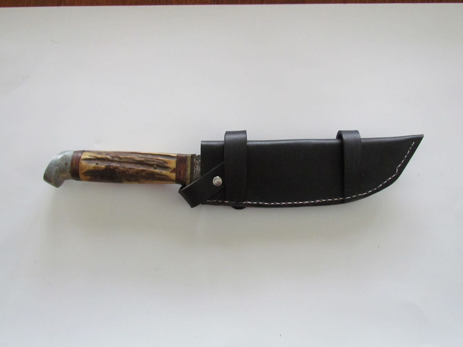 Hand Crafted Custom Leather Knife Sheath To Be Worn ...