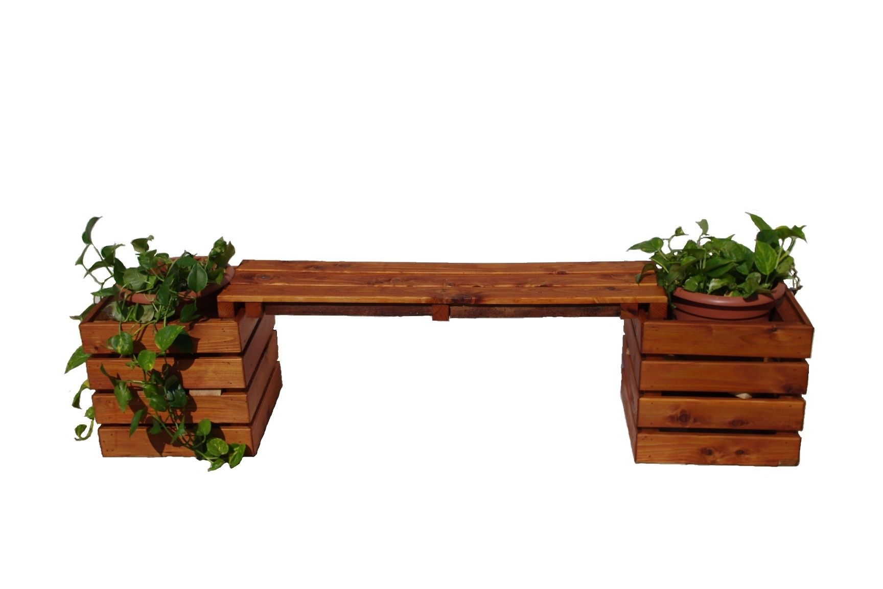 Very Impressive portraiture of home decor outdoor outdoor furniture benches small planter bench with #7D3A1A color and 1728x1152 pixels