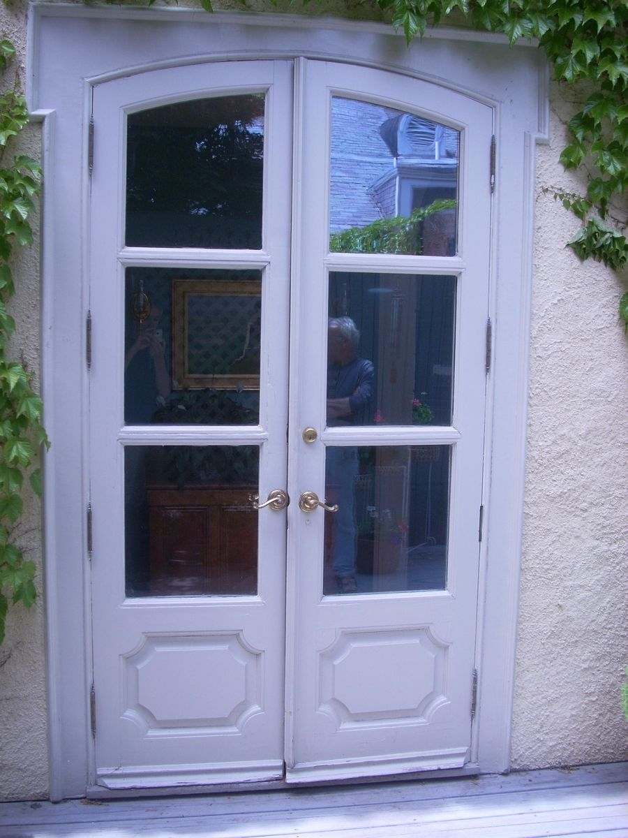 Custom patio entry 63 pond street by historic door for Custom patio doors