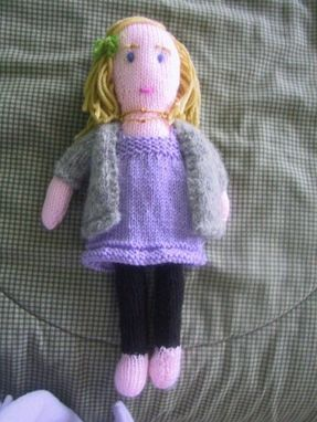 Custom Made Hand Crafted, Hand Made, Hand Knitted, 'Portrait' Dolls, Made To Order From Good Photos