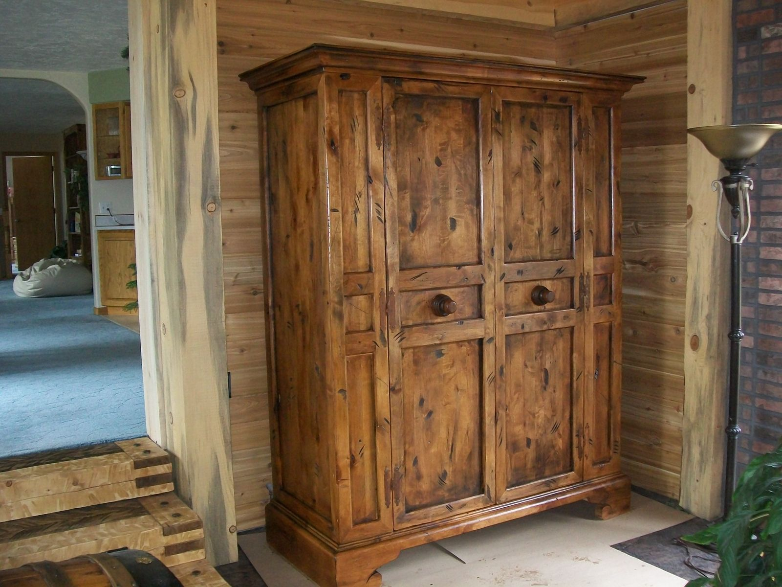 Hand Crafted Custom Rustic Wardwrobe Closet By Classy