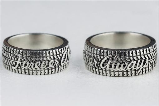 Mud Tire Wedding Rings Ideas And Inspirations