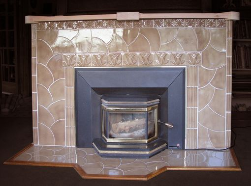 Custom Made Fireplace