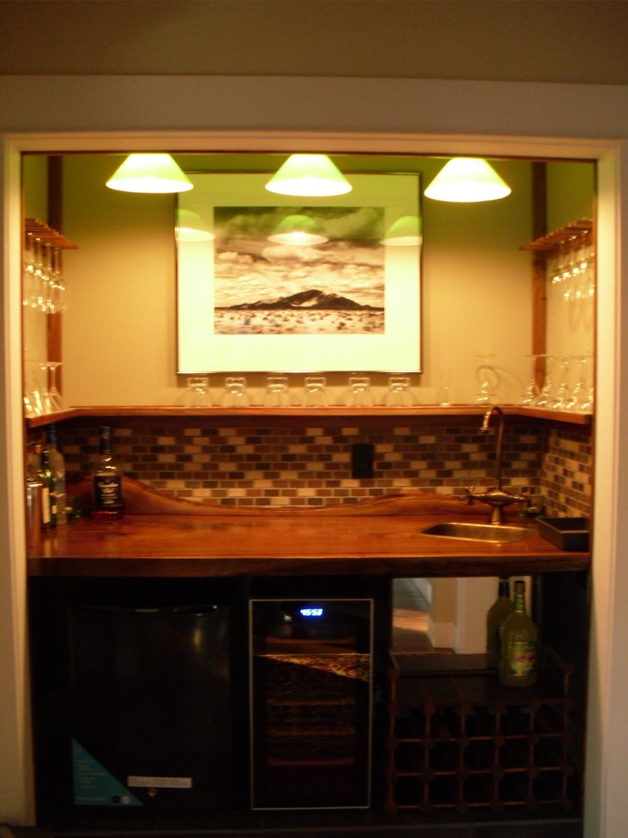 Custom Wet Bar By Petticrafts
